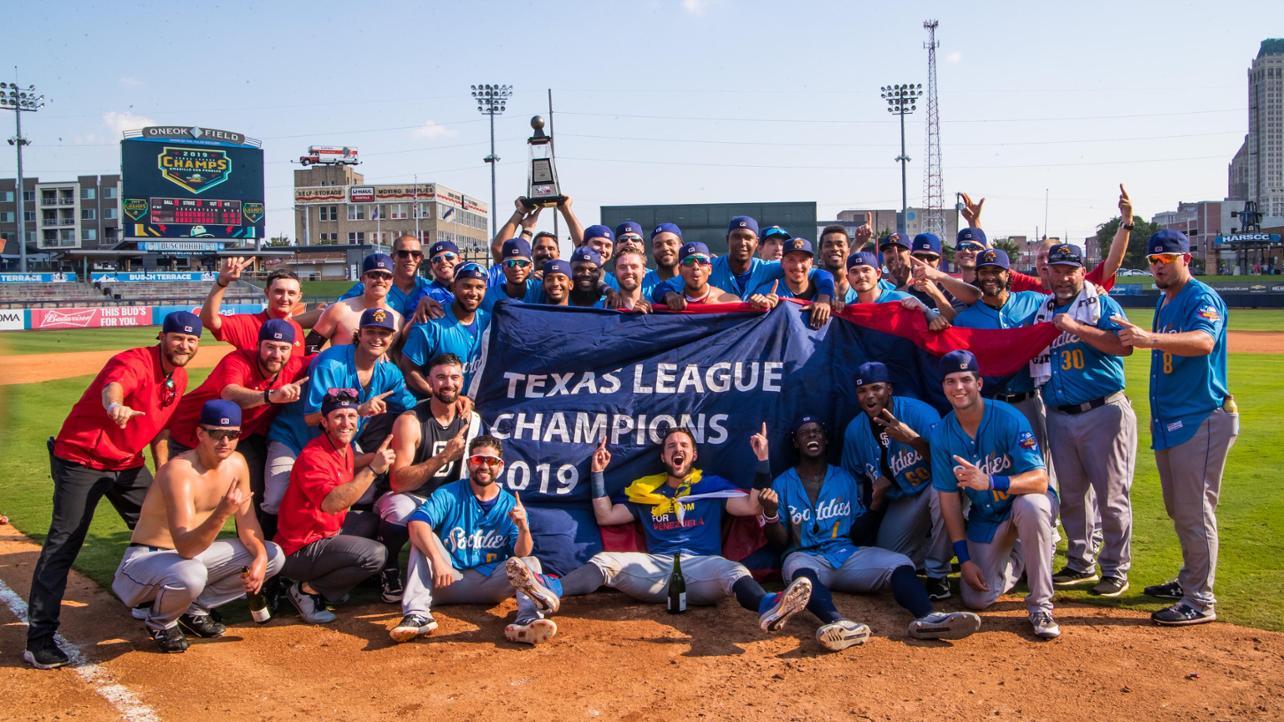 Sod Poodles Win Texas League Championship in Inaugural Season!