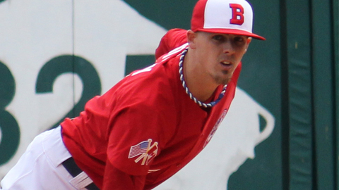 Storey has posted a 3.00 ERA in 30 games with the Bisons this season.