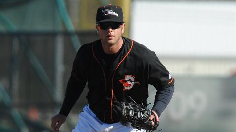 Christian Walker was named the Orioles Player of the Month for April