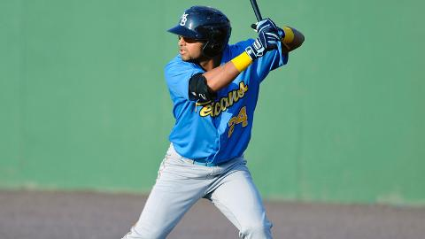Rougned Odor was batting .303 for Myrtle Beach before his promotion.