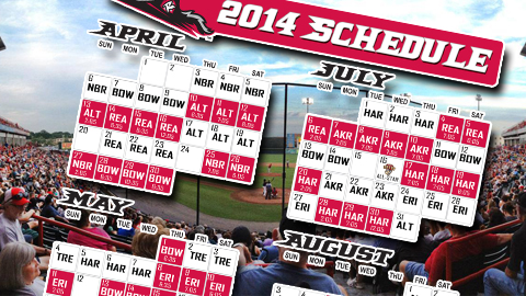 Flying Squirrels Schedule 2019 Flying Squirrels Release 2014 Schedule | Columbus Clippers News