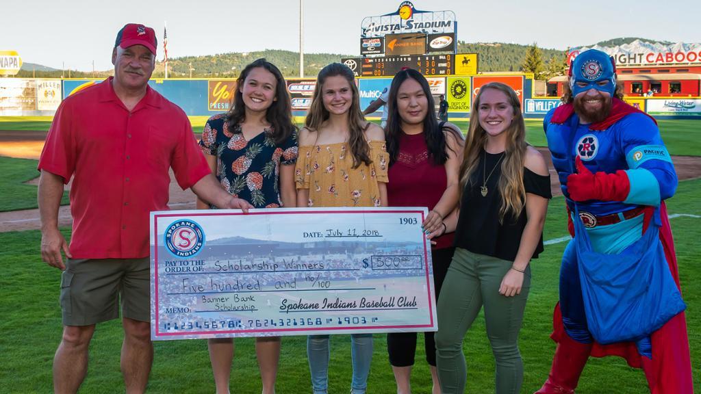 Banner Bank & Spokane Indians Scholarship Application
