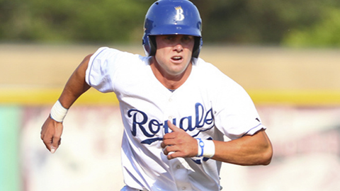 Legends outfielder Bubba Starling was the Royals' first round pick in the 2011 draft, and the fifth player chosen overall.