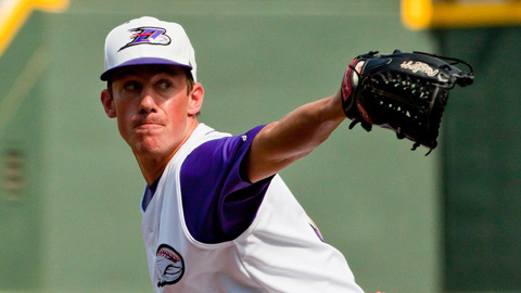 Chris Bassitt posted a 3.66 ERA in 38 games for the Dash in 2012.
