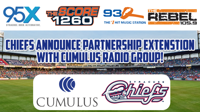 photo regarding Syracuse Basketball Schedule Printable named Syracuse Chiefs Announce Broadcast Connection with Cumulus