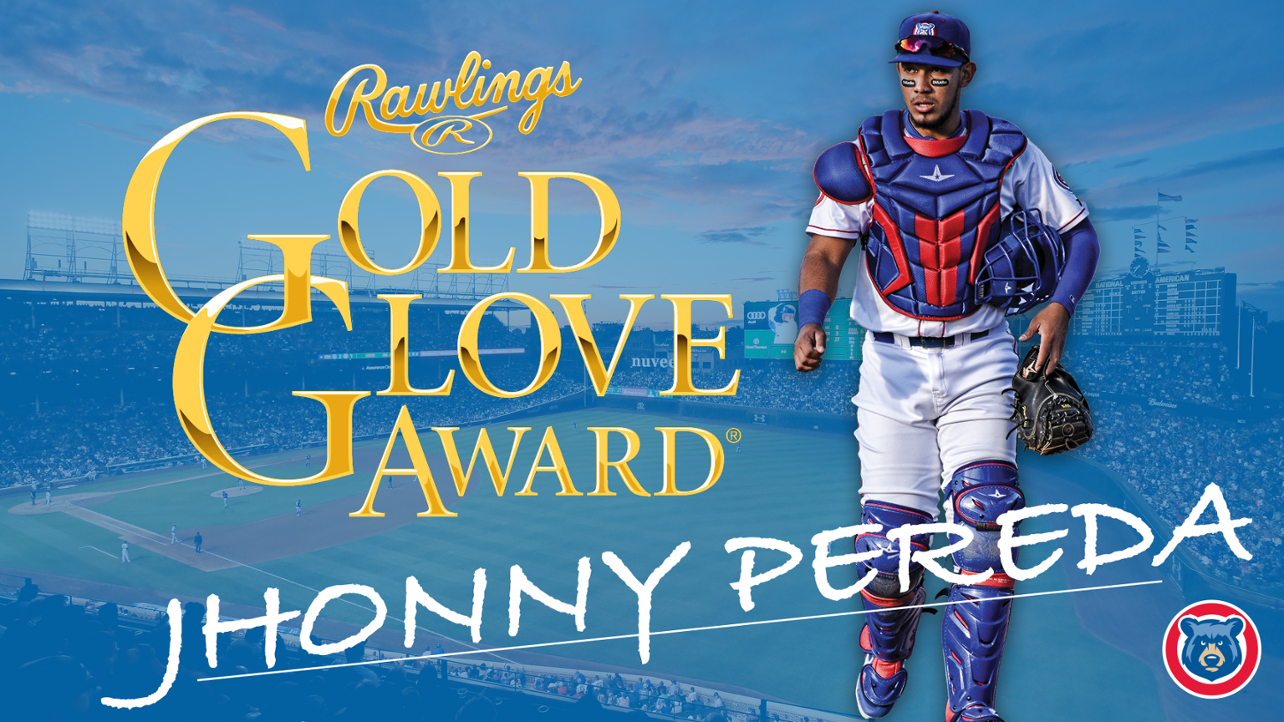 Jhonny Pereda Rawlings Gold Glove Media Wall