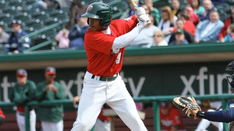 Mallex Smith had his second straight three-hit game in Fort Wayne's loss on Monday.
