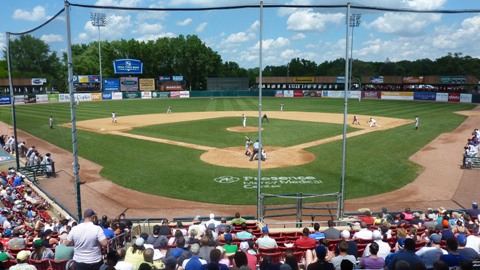 The Timber Rattlers wrapped up the first half on a beautiful day for baseball at Kane County on Father's Day.