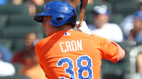 C.J. Cron leads the Arizona Fall League with a .393 batting average.