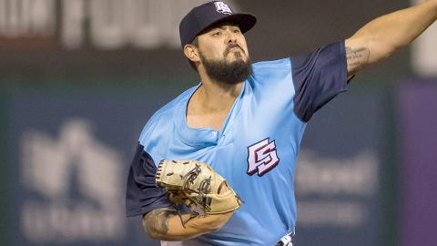 Nick Ramirez's 1.01 WHIP ranked fifth among Southern League pitchers with at least 70 innings in 2017.