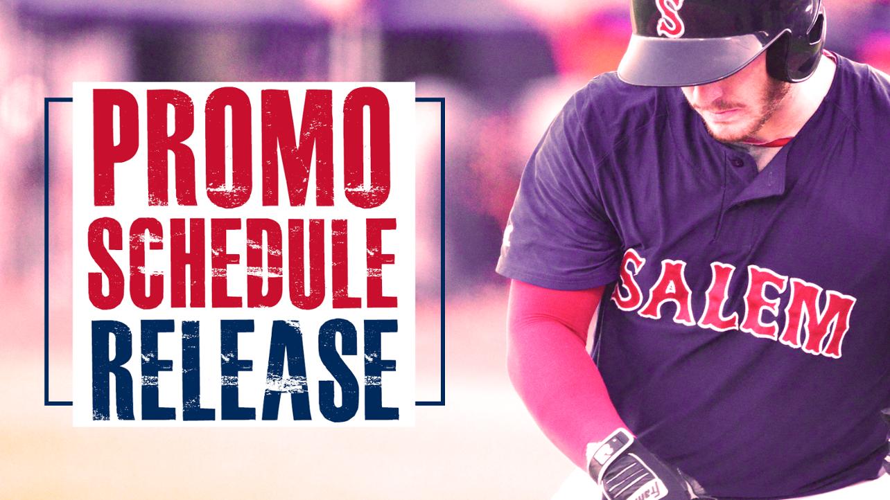 Salem Sox_Promo Schedule Release