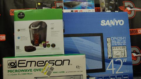 Fans will have the chance to win great prizes like a Keurig and a 42-inch TV!