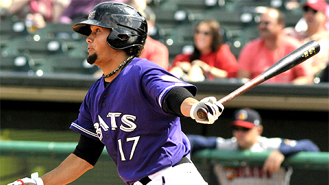 Kristopher Negron's two-run homer gave the Bats a 3-1 lead in the fourth.