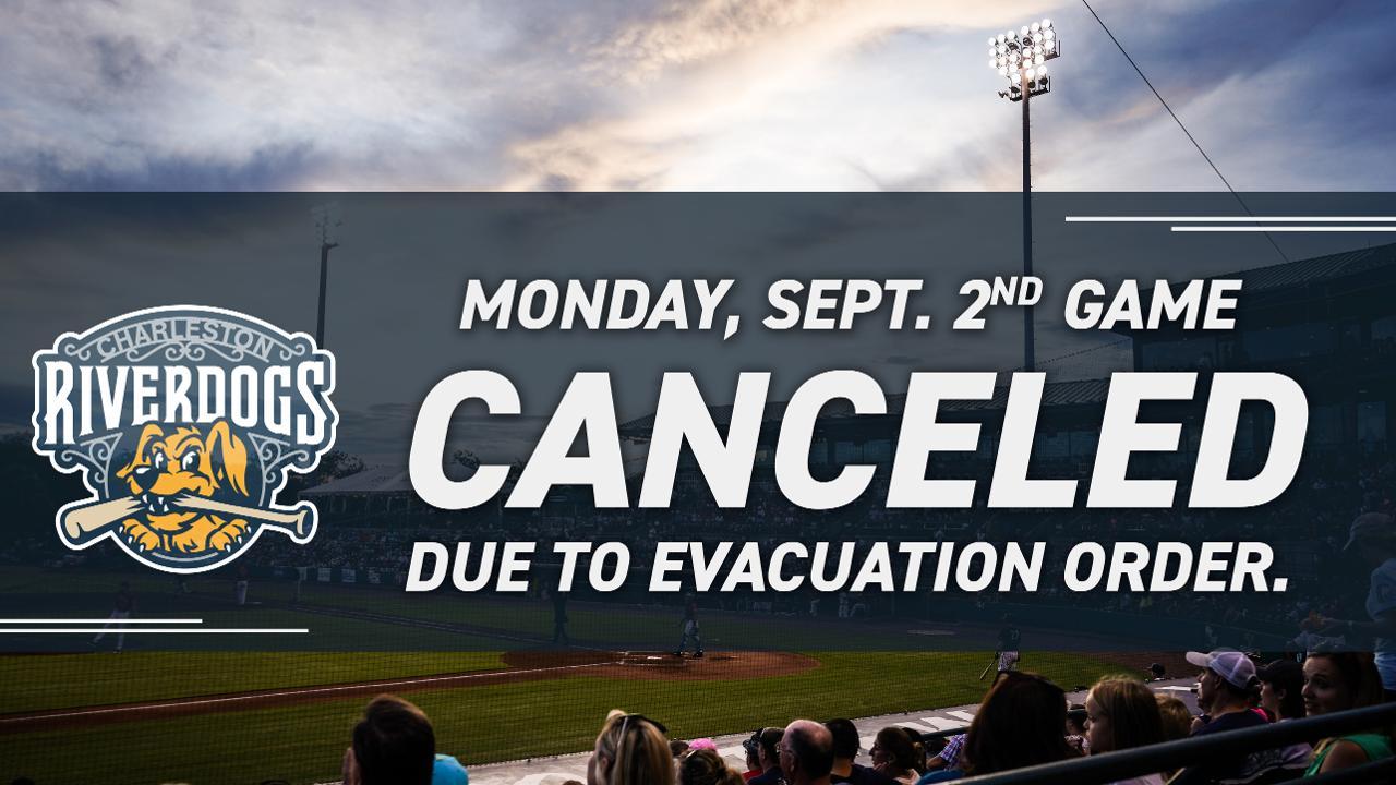 RiverDogs Cancel Season Finale Amidst Hurricane Dorian
