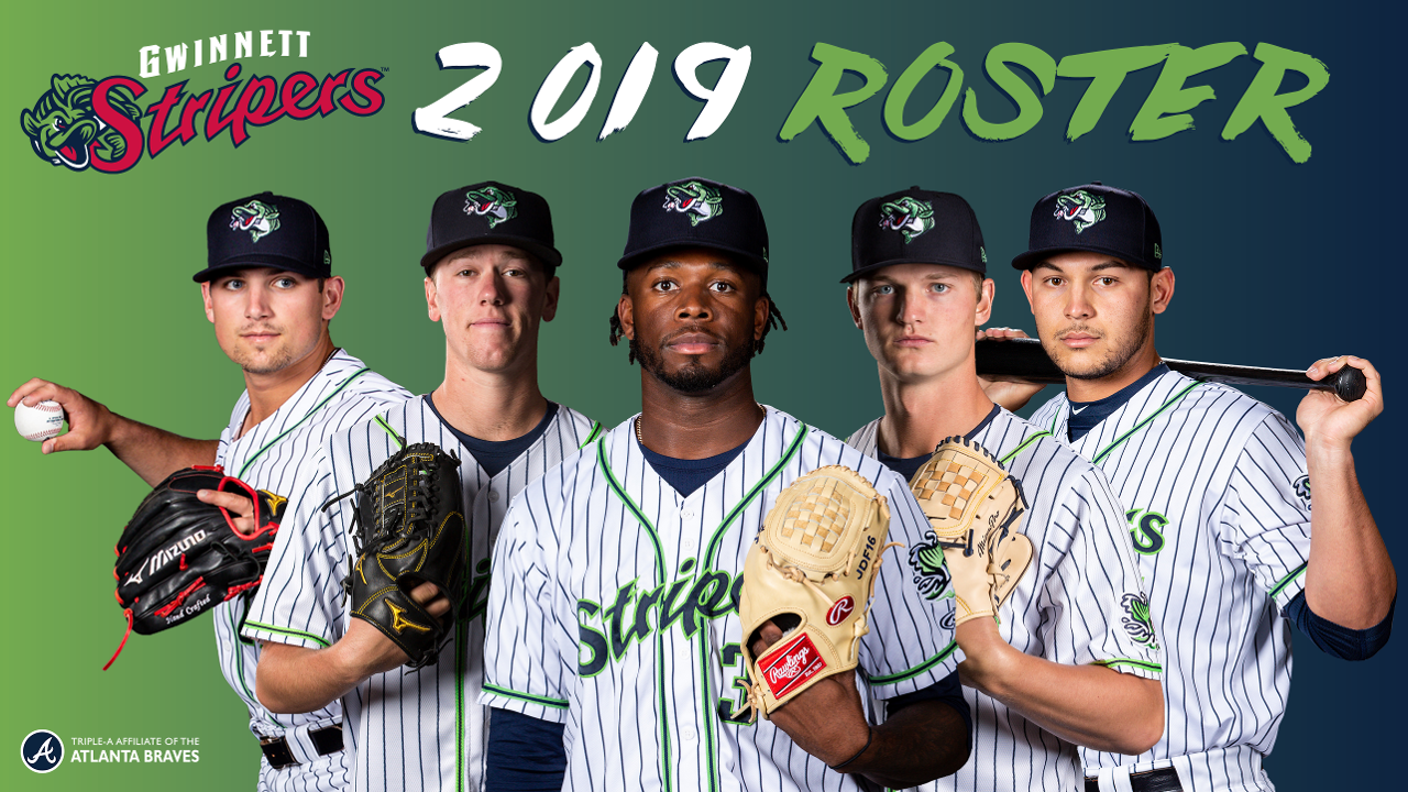 Gwinnett Braves 2019 Schedule Gwinnett Stripers Announce 2019 Opening Night Roster | Gwinnett