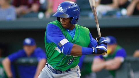 Lexington's Khalil Lee has 15 home runs and 19 stolen bases through 106 games in his full-season debut.