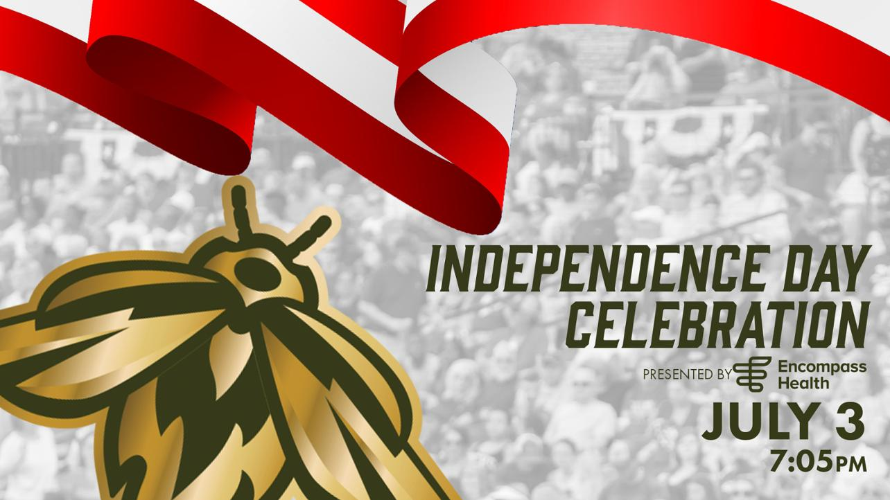 Fireflies to Host Independence Week Celebration on July 3, presented by Encompass Health