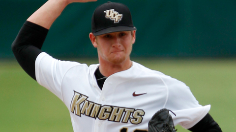 Ben Lively had a 2.04 ERA over 106 innings for the University of Central Florida.