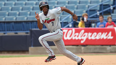 Minnesota's Byron Buxton was named MLB.com's No. 1 prospect.