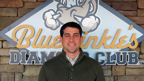Jake Schrum returns to the Wilmington Blue Rocks front office as the new Assistant Director of Marketing.