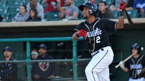 Carlos Perdomo picked up three hits including a home run on Sunday afternoon.