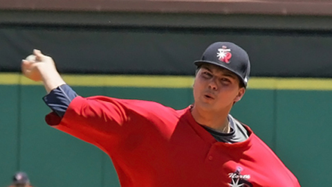 Eddie McKiernan was 8-3 with a 3.51 ERA for Visalia this year.