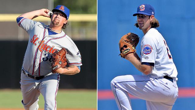 Braves Pitching Prospects Mets Pitching Prospects