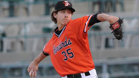 Hunter Harvey is 7-6 with a 2.87 ERA and 139 strikeouts over two Minor League seasons.