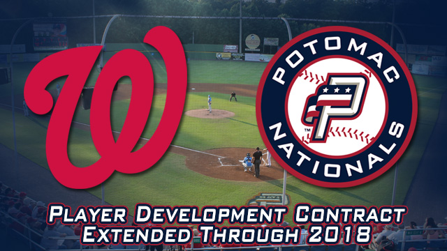 Washington Nationals Extend Player Development Contract With Potomac