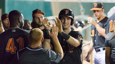 Kyle Tucker led the Pacific Coast League in average, on-base percentage, slugging and OPS in August.