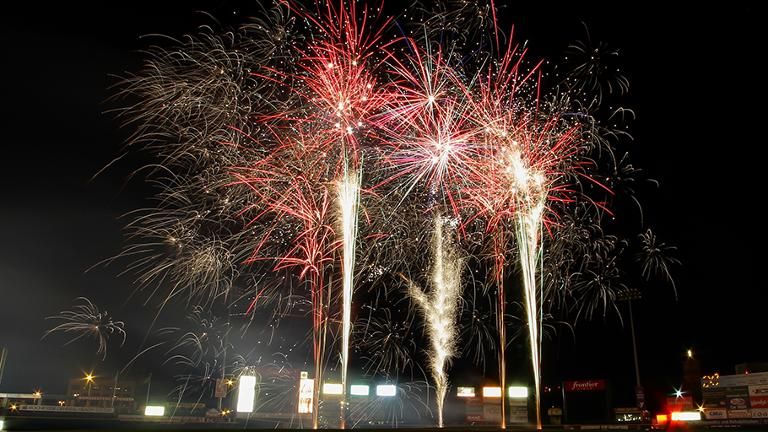 First Fireworks Show of the Season Friday Night