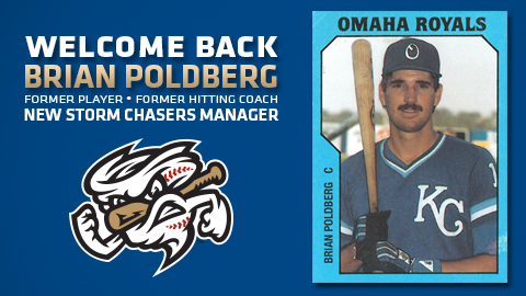 Poldberg is the sixth manager in team history that has also played for Omaha, and trails only Ron Johnson's 329 games for the most as a former player before becoming manager.