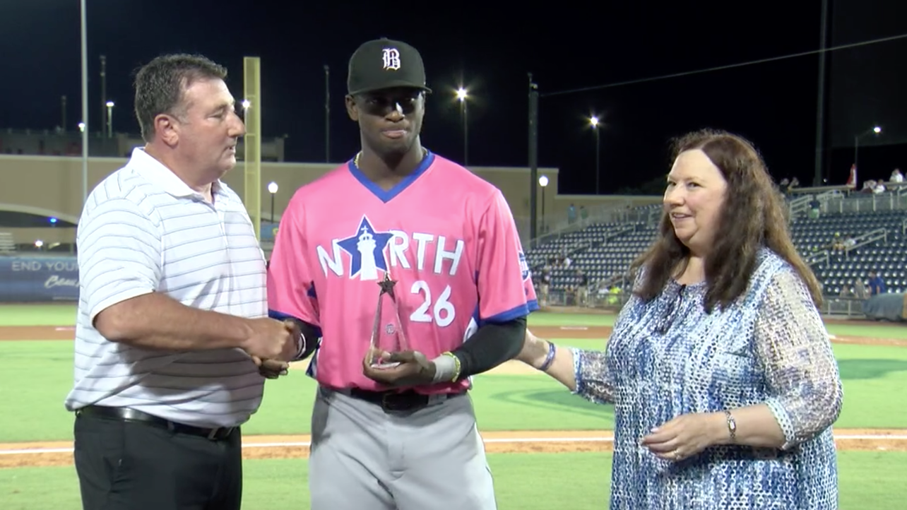 Robert Earns MVP as Barons Shine in All-Star Game