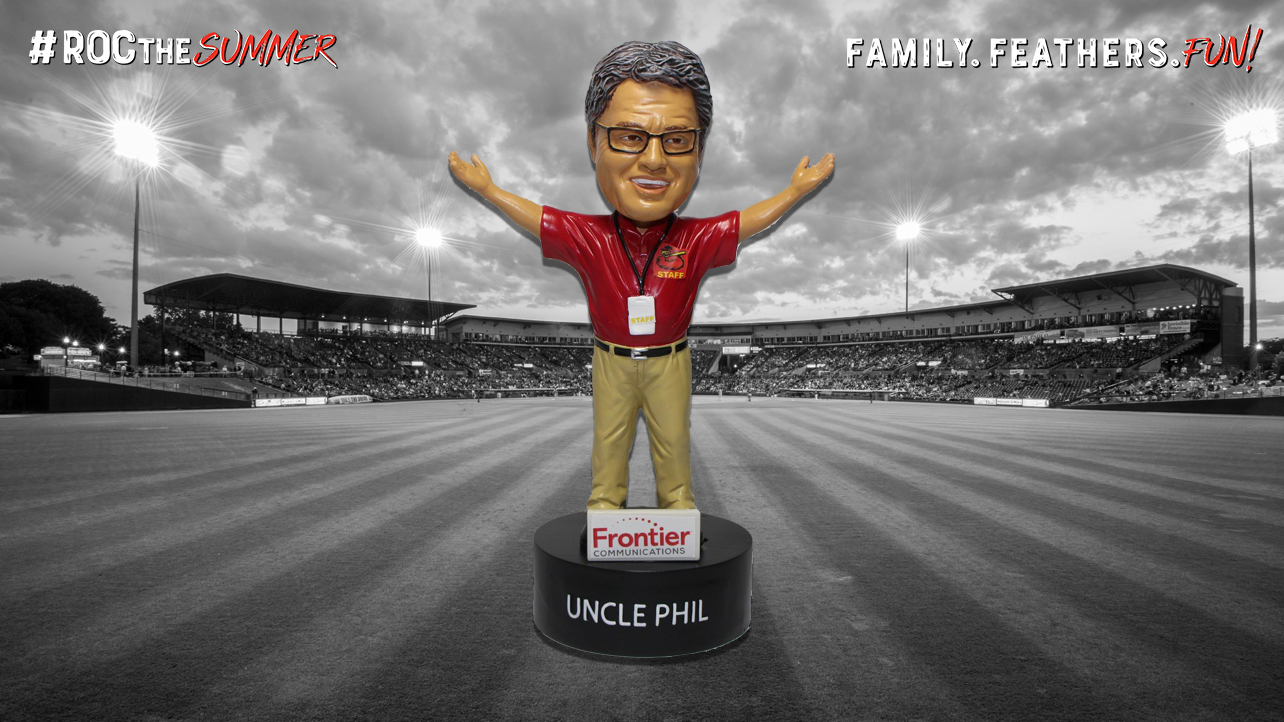 Uncle Phil Talking Bobblehead Night is Wednesday