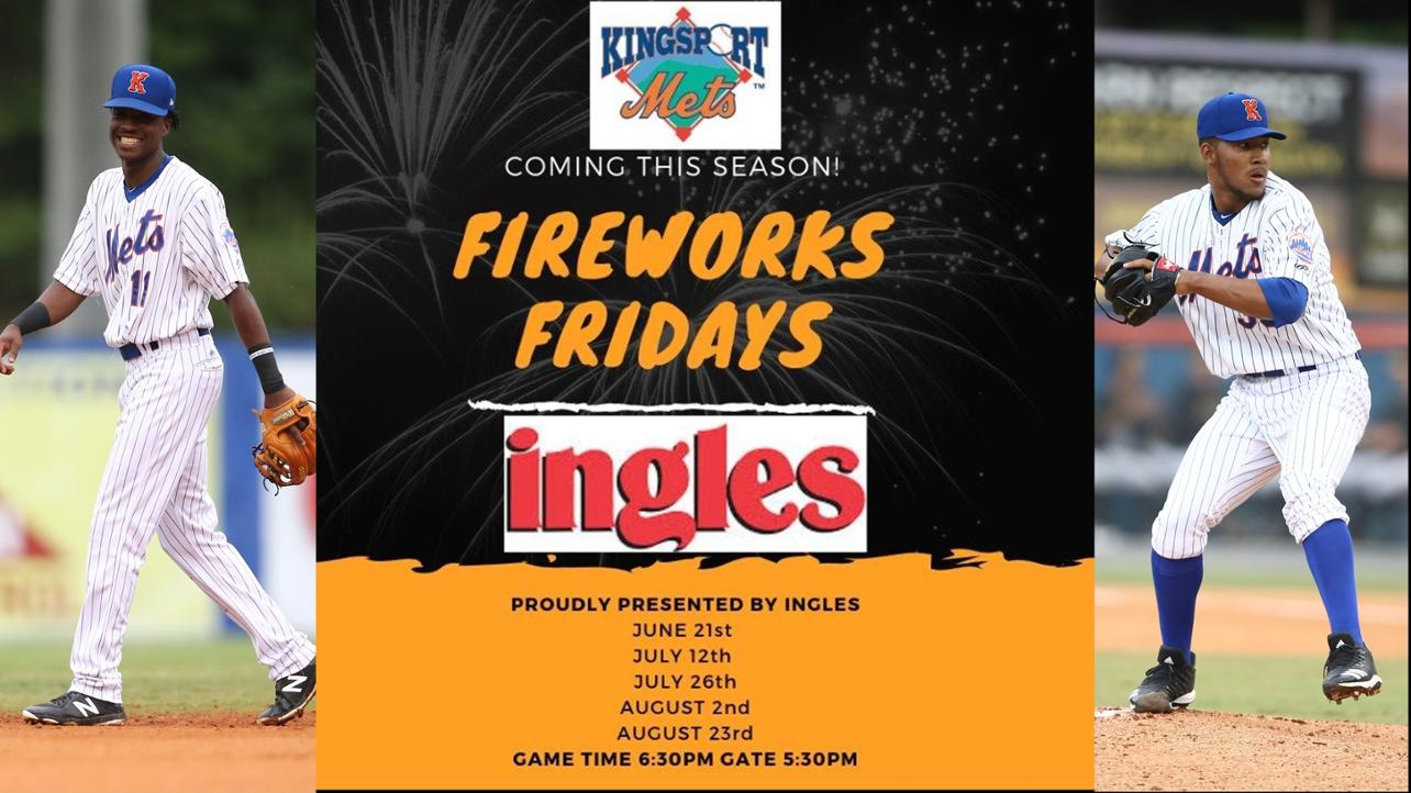 Firework Fridays Presented by Ingles