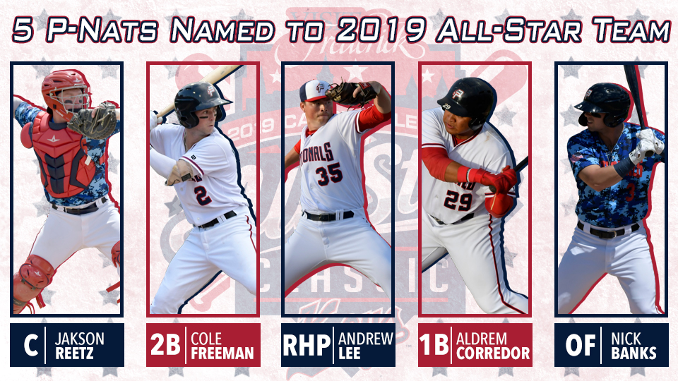Five P Nats Named To Northern Division All Star Team Potomac