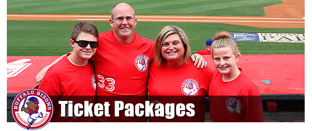 Bisons Ticket Packages
