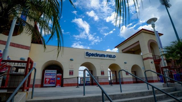 Spectrum Tampa Fl >> Ballpark Directions Clearwater Threshers Spectrum Field