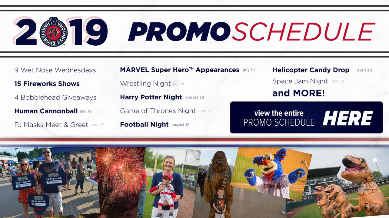 Our promo schedule is HERE!