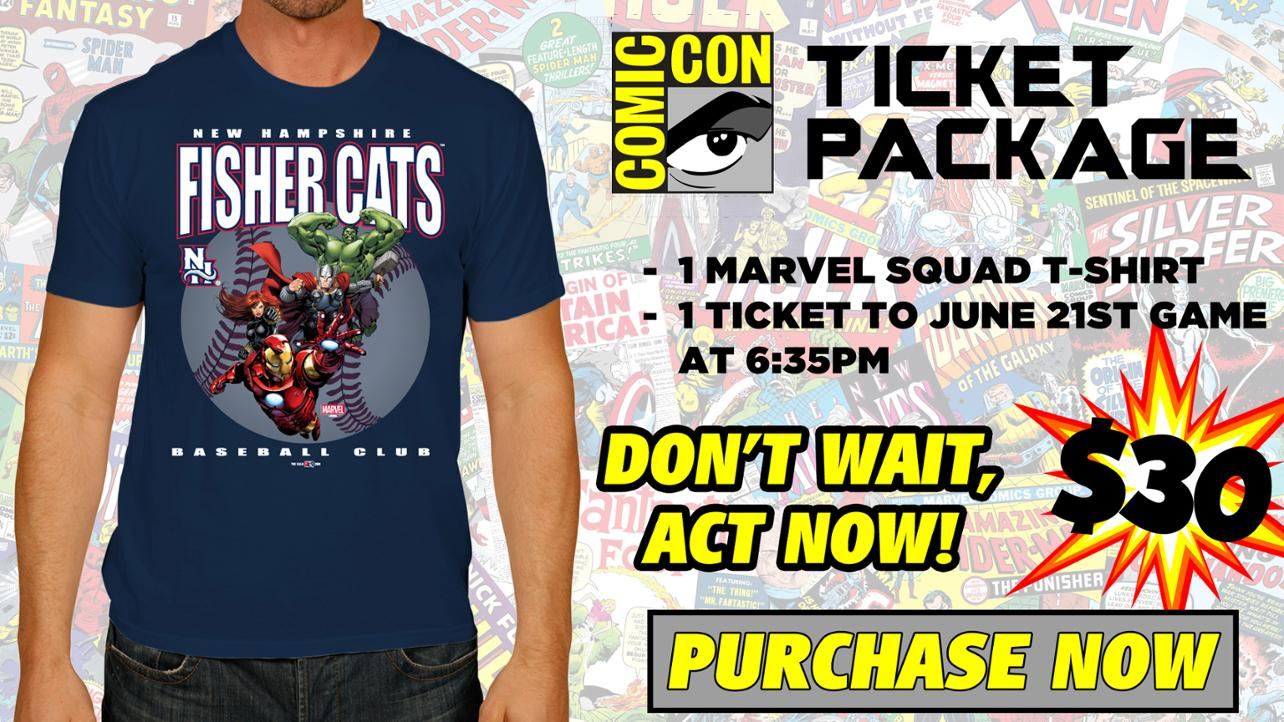 Comic Con T-Shirt Pack