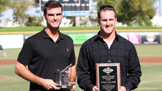 Greg Bird wins the AFL MVP award