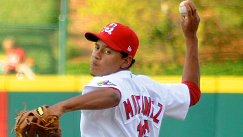 Carlos Martinez had a 2.90 ERA for Springfield this year.