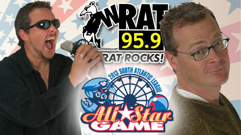 Steal (left) and Craft (right) will represent 95.9 WRAT in the June 17th Celebrity Hitting Challenge.
