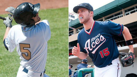 Chris Owings and Matt Davidson find their path to the Major Leagues blocked.