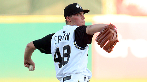 Robbie Erlin fanned a season-high 11 over seven shutout innings May 27.