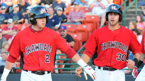 Ryan Rua and Joey Gallo combined for 67 South Atlantic League homers.