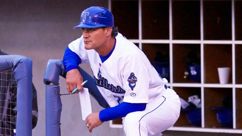 Manager Kevin Riggs will lead a veteran Drillers staff during the 2014 Texas League season.
