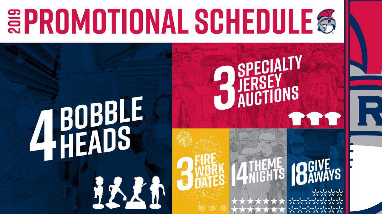 size 40 e1e78 44333 Rome Braves Announce 2019 Promotions   Rome Braves News