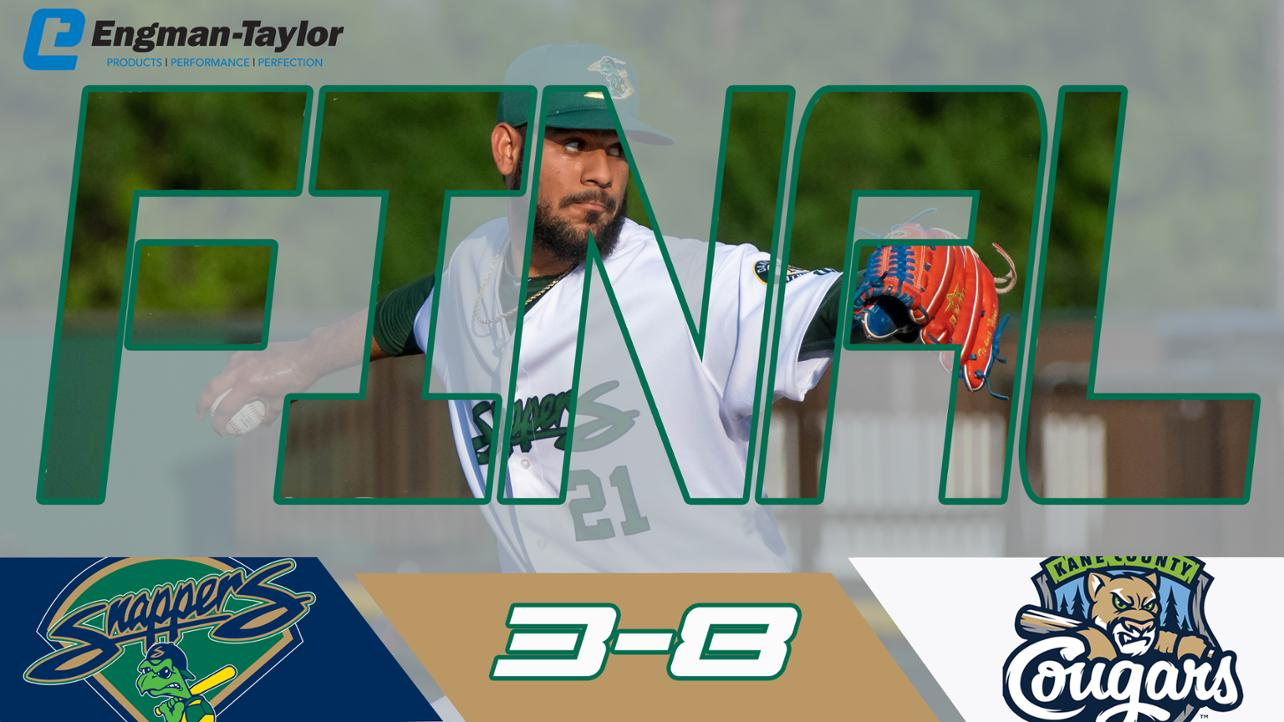 Snappers fall in second half road opener to Cougars