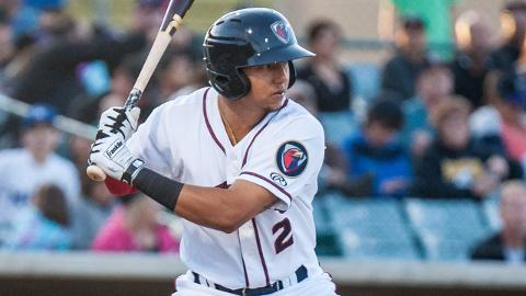 Yonathan Daza has just 12 homers in 477 career Minor League games.